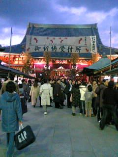 一昨年撮っていた 浅草寺