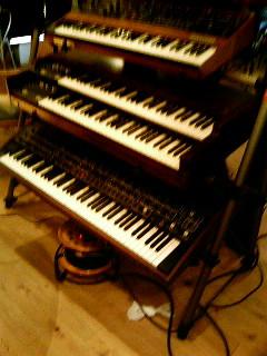 音楽堂・愛する楽器に囲まれて