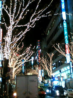 イルミネーション 渋谷駅前篇