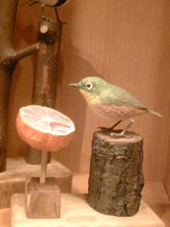 さえずり館の鳥たち