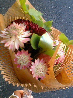 これからバイトだというのに花を買ってしまった