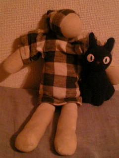 おケイさんが作ってくれた人形