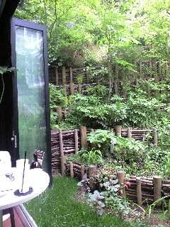 おいしい珈琲と憩いの庭