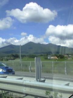 八ヶ岳通過