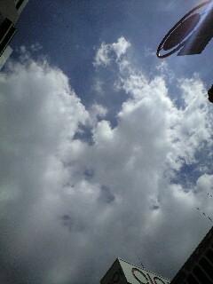 すっかり秋の空と日差し