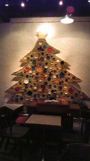谷中ボッサのクリスマスツリー