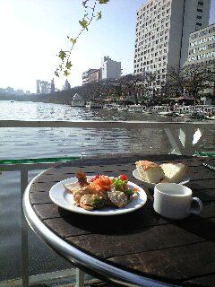 日の移ろい オープンカフェ日和