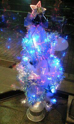 入谷食堂のクリスマスツリー