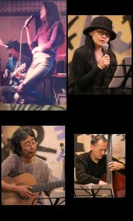 12月10日(木)Shoomy sings Standard & Bossa nova@入谷なってるハウス