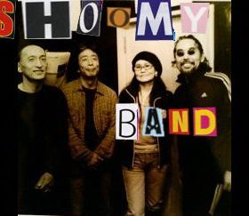 4/10(Sat.)  SHOOMY BAND @入谷なってるハウス