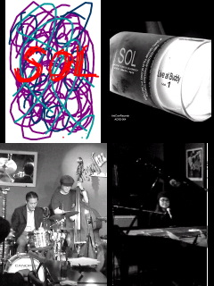 "4/11(Sun.)Shoomy's Trio""SOL""@横浜ADLIB"