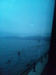 山中湖はもう冬