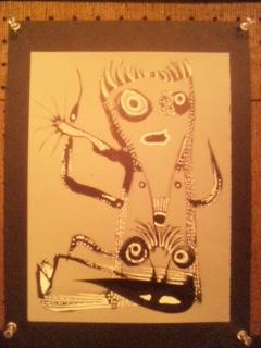 加藤崇之 絵画「B5展」より