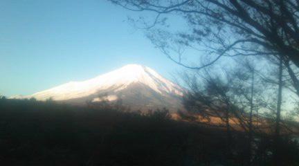 もうこんなんなってる富士山