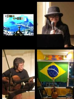 10/29(土)Musica ao Vivo 夢Bossa @西荻窪Aparecida
