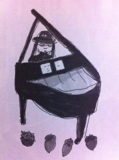 """12/10(Sat.)Shoomyピアノ弾き語り""""朱と墨色のつぶやき""""@なってるハウス"""