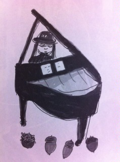 """3/7(Wed.)Shoomyピアノ弾き語りSolo""""朱と墨色のつぶやき""""@なってるハウス"""